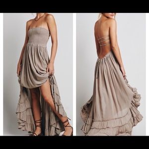 NWOT Free people extratropical maxi dress